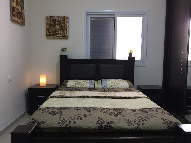 Apartment For Short Term In Bat Yam Bedroom