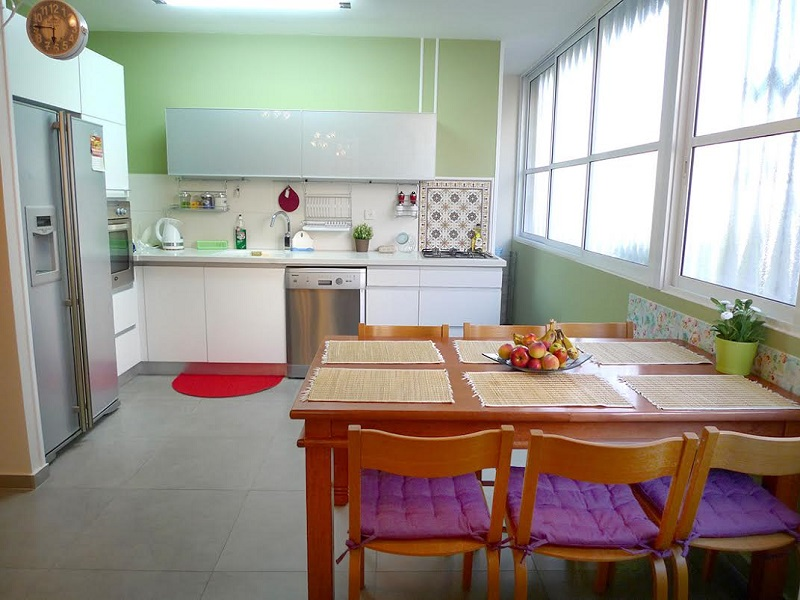 Apartment For In Bat Yam Short Term Kitchen