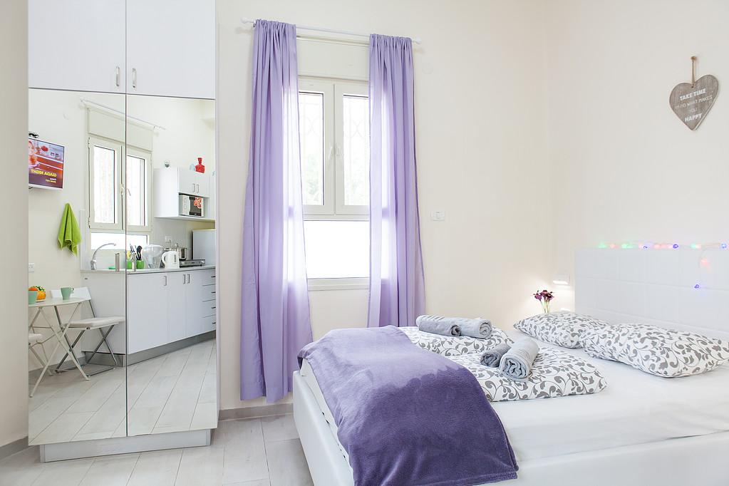 Apartment For In Bat Galim Haifa Short Term Bedroom