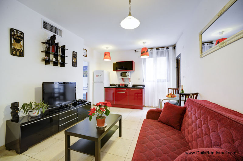Rental Apartment In Tel Aviv For Short Term, Badroom